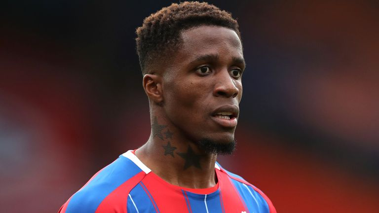 Wilfried Zaha: Police arrest 12-year-old boy after racist messages sent to Crystal Palace winger 2