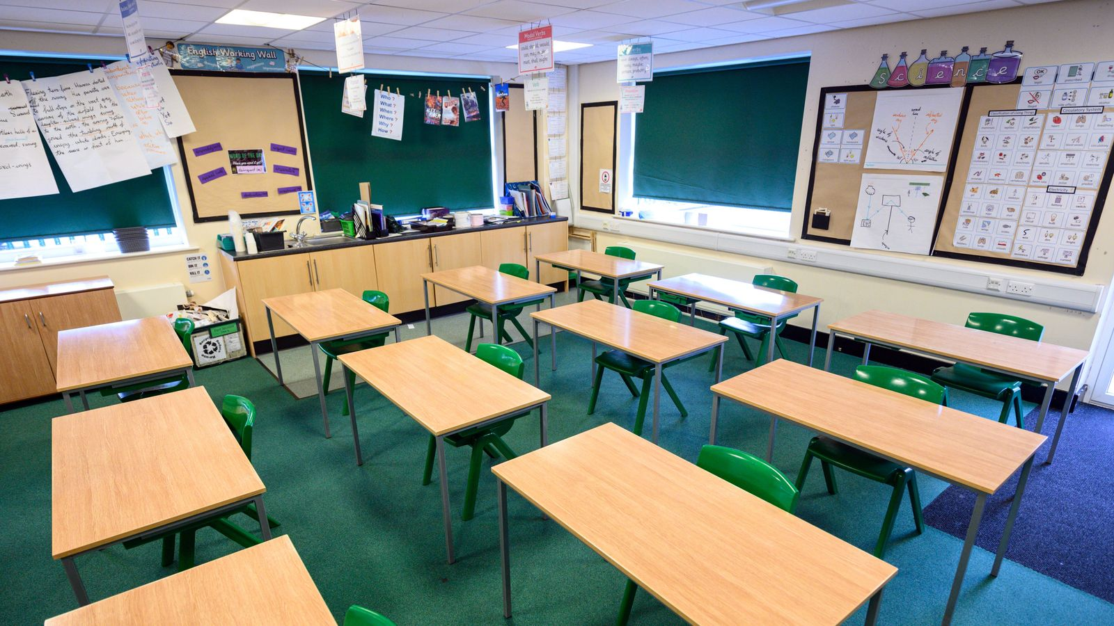 Coronavirus: Government says schools are safe and children will be back in September