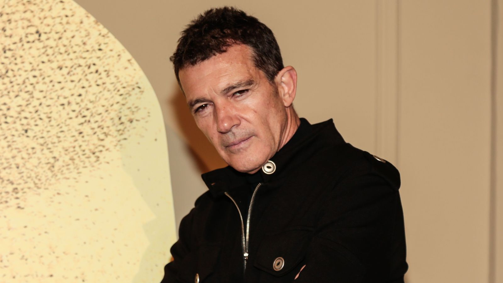 BARCELONA, SPAIN - FEBRUARY 21: Producer Antonio Banderas attends 'A Chorus Line' Premiere at Teatre Tivoli on February 21, 2020 in Barcelona, Spain. (Photo by Miquel Benitez/Getty Images)