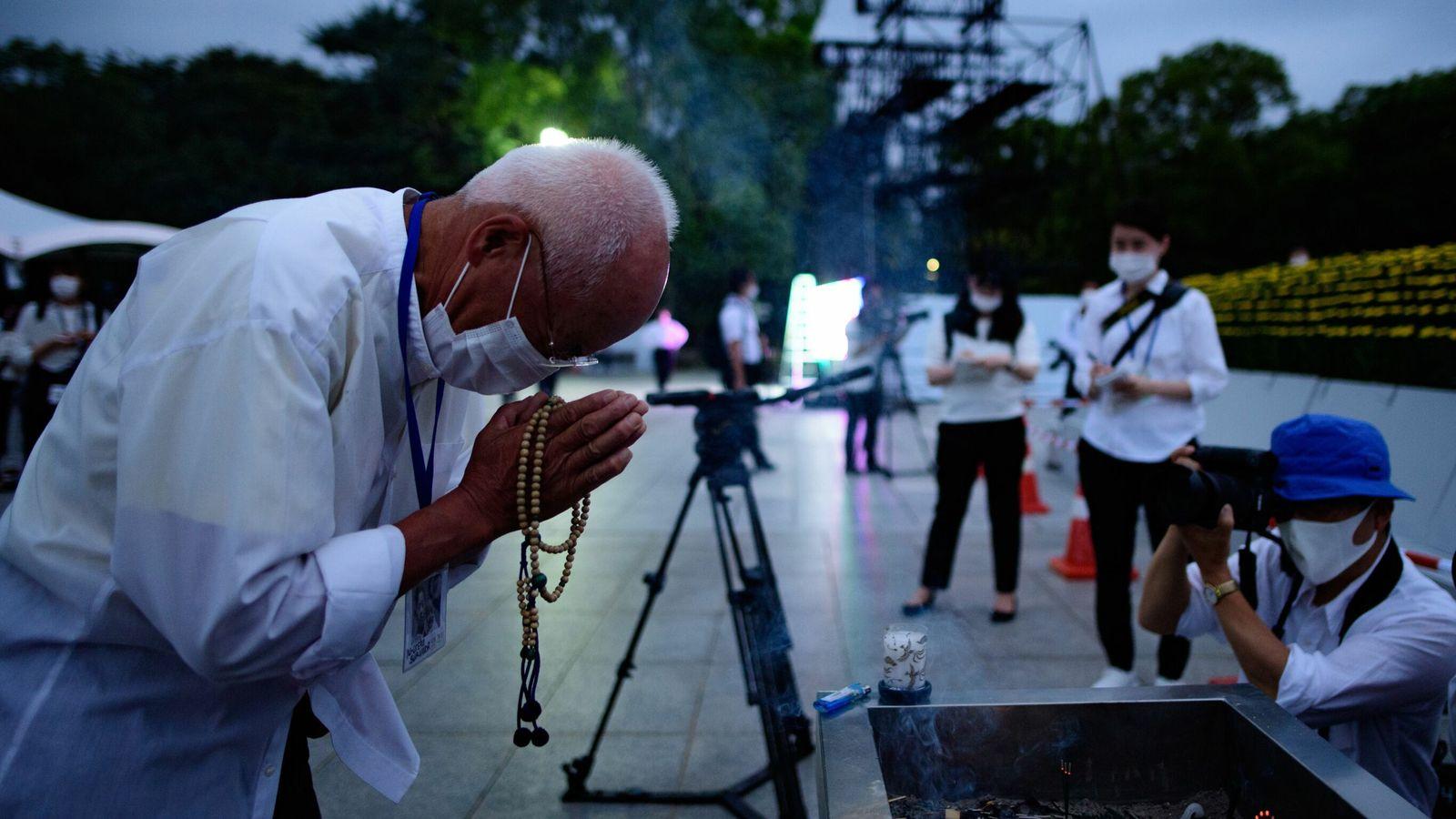 Dwindling band of survivors marks 75th anniversary of the Hiroshima atomic bomb