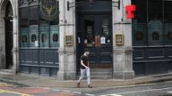 Pubs, restaurants and cafes were ordered to close a week ago