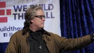 He became chief strategist for Mr Trump after his inauguration, but Bannon clashed with others in the White House and was pushed out in August 2017.