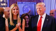 Eric, Ivanka and Donald Trump were all criticised by Maryanne Trump Barry in the recordings