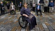 Jennifer McNern lost both legs in a bombing in 1972