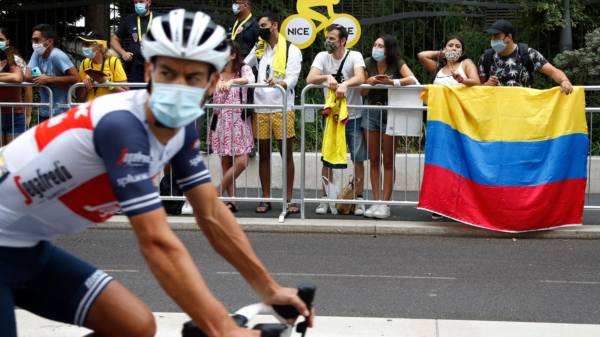 Coronavirus It Would Be A Miracle If Tour De France Finishes Uci President Admits World News Sky News