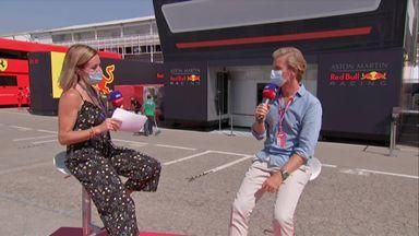 Rosberg praise for Hamilton