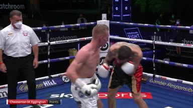 Cheeseman edges Eggington in thriller