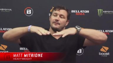 Mitrione: I've become a great baker!