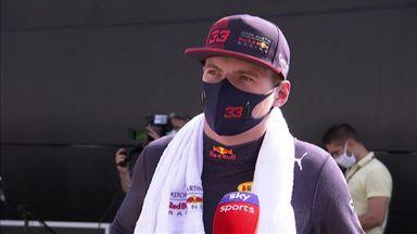 Verstappen in third for Spanish GP