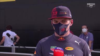 Verstappen: Finishing second 'decent'