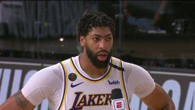 AD: Kobe is looking down cheering us on