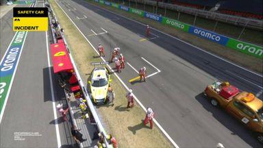 Porsche pile-up at race start