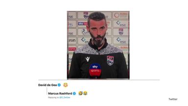 De Gea stunned by Ross County lookalike