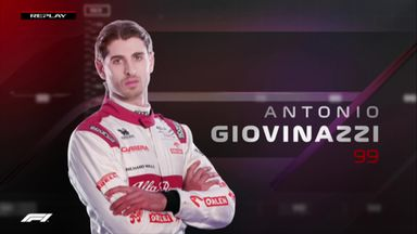 P2: Giovinazzi hydraulic problems