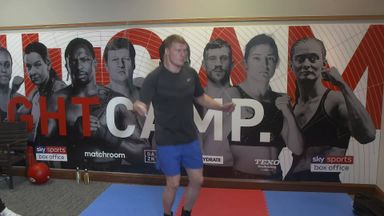 Povetkin's open workout