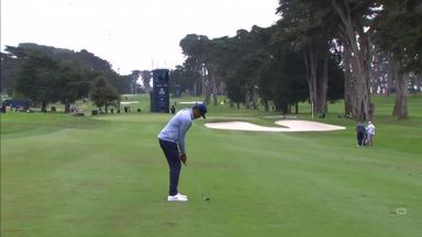 Finau inches from opening eagle