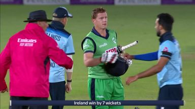 Ireland beat England by seven wickets