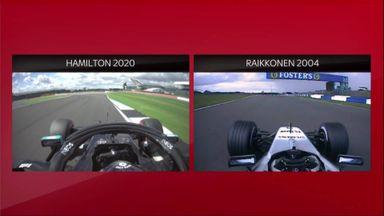 SkyPad: 2020/2004 comparision