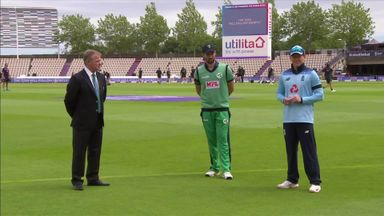 Eng v Ire 3rd ODI: The Toss