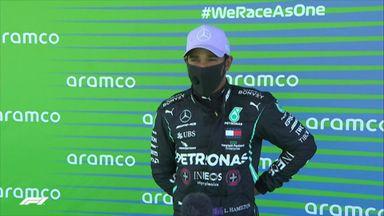Top 3: Hamilton, Bottas, Verstappen