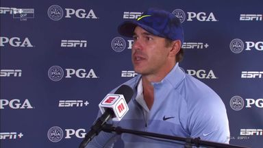 Koepka plays down injury scare