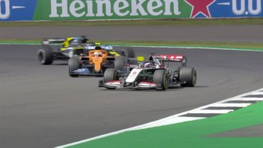 Sainz overtakes Grosjean for fifth