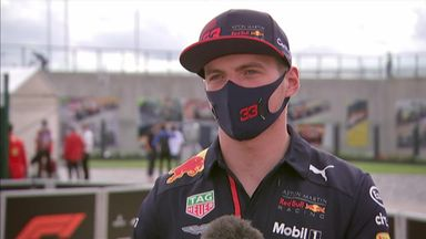Verstappen: Mercedes just too quick