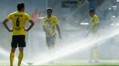 Bellingham 'buzzing' after Dortmund debut