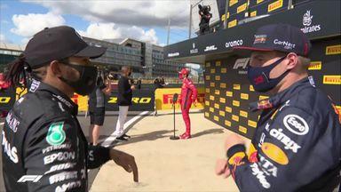 Top 3: Hamilton, Verstappen, Leclerc