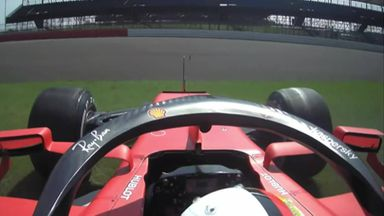 Vettel, Sainz almost collide