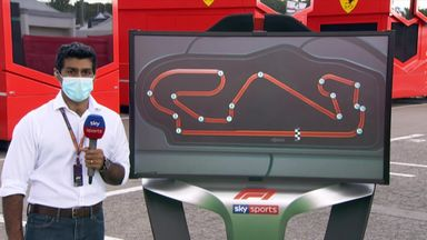 SkyPad: Spanish GP analysis