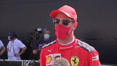 Tricky qualifying session for Vettel