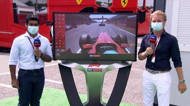 SkyPad: Spanish GP start analysis