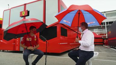 Leclerc pleased with 'pretty good season'
