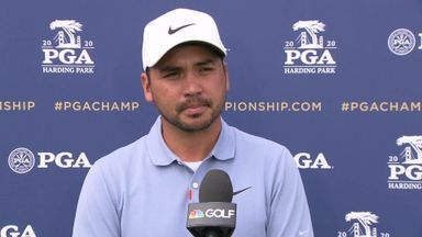 Day shares PGA Championship lead