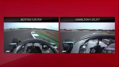 How Bottas beat Hamilton to pole