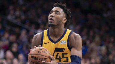 How high is Donovan Mitchell's ceiling?
