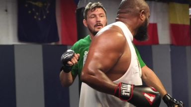 Mitrione prepares for Johnson fight