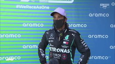 Top three: Hamilton, Verstappen, Bottas