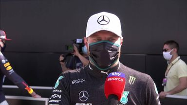 Bottas frustrated with second