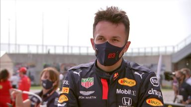 Albon: It was tricky