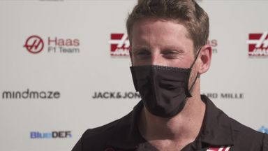 Grosjean: I don't know where that came from!