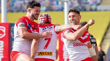 St Helens 34-6 Catalans