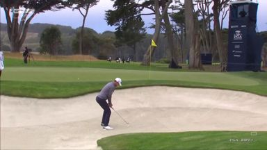 Bernd's birdie from the bunker