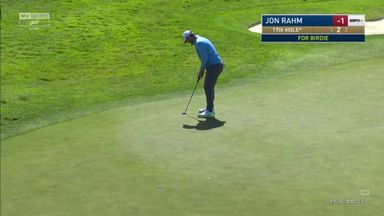 Rahm's back-to-back birdies