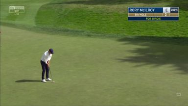 McIlroy makes back-to-back birdies