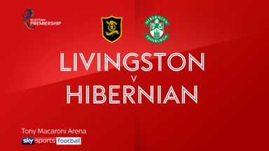 Livingston 1-4 Hibernian