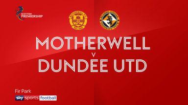 Motherwell 0-1 Dundee Utd