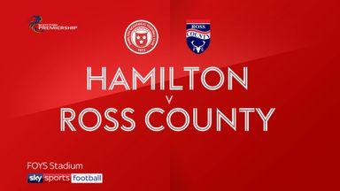 Hamilton 0-1 Ross County