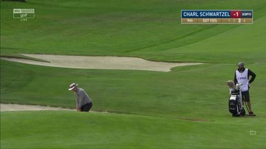 Schwartzel's bunker hole-out